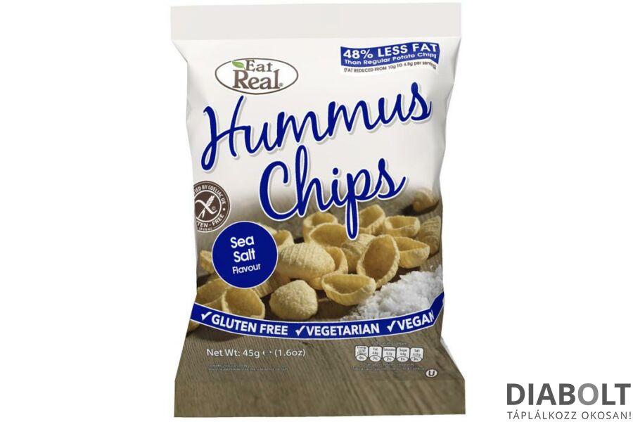 EAT REAL HUMMUS CHIPS TENGERI SÓS 45G