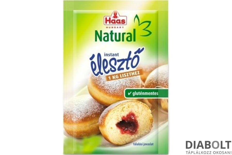 GLUTÉNMENTES HAAS INSTANT ÉLESZTŐ 7G