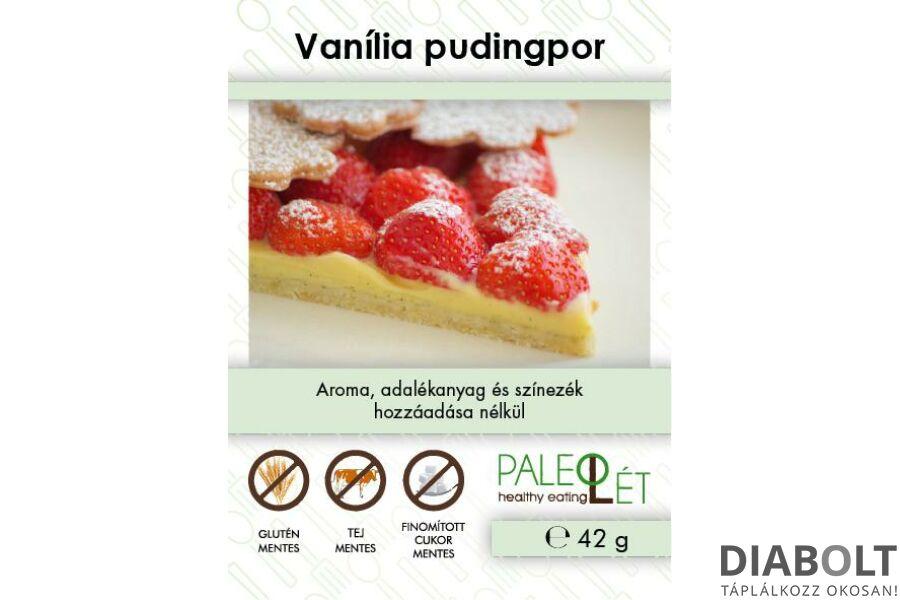 PALEOLÉT VANÍLIAÍZŰ PUDINGPOR 42G